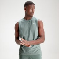 MP Men's Essential Drop Armhole Tank - Washed Green - XXL