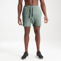 MP Men's Essential Sweat Shorts - Washed Green - L