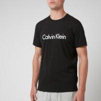 Calvin Klein Mens Crew Neck T-Shirt - Black - M