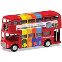 The Beatles London Bus A Hard Day's Night Model Set - Scale 1:64