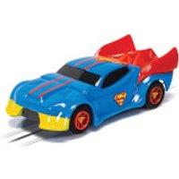 Micro Scalextric Justice League Superman Car - Scale 1:64