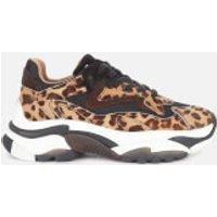 Ash Women's Addict Chunky Running Style Trainers - Black/Tan - UK 7