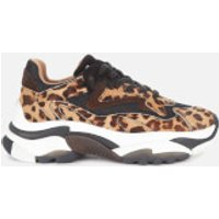 Ash Women's Addict Chunky Running Style Trainers - Black/Tan - UK 8