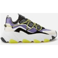 Ash Women's Extra Chunky Trainers - White/Purple - UK 8