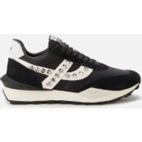Ash Women's Spider Studs Sustainable Running Style Trainers - Black/Off White - UK 7