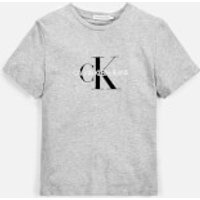 Calvin Klein Monogram Logo T-Shirt - Light Grey - 4-5 years