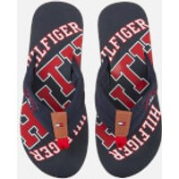Tommy Hilfiger Men's Simon Essential Beach Toe Post Sandals - Midnight - UK 7
