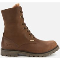 Barbour Women's Hamsterly Lace Up Boots - Brown - UK 3