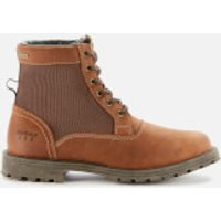 Barbour Mens Cheviot Derby Boots - Conker Brown - UK 9