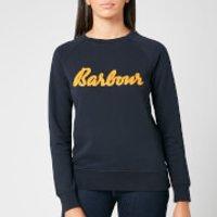 Barbour Women's Otterburn Overlayer Sweatshirt - Navy - UK 16