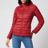 Barbour Womens Murrelet Quilt Jacket - Burnt Red - UK 16