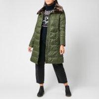 Barbour Womens Teasel Quilt Coat - Sage - UK 10