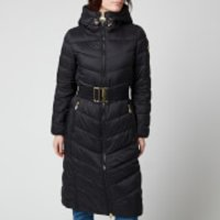 Barbour International Womens Lineout Quilt Coat - Black - UK 12