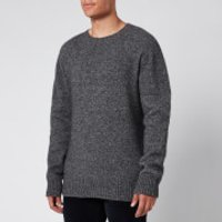 Officine Generale Men's Alpaca Wool Jumper - Grey - XL