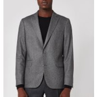 Officine Generale Men's 375 Herringbone Jacket - Grey - 46/S