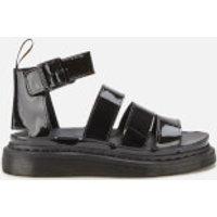 Dr. Martens Women's Clarissa 2 Patent Sandals - Black Patent - UK 3