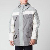 Napapijri X Martine Rose Men's Epoch Sum 1 Parka Jacket - Grey/Silver - S