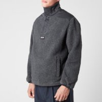 Napapijri X Martine Rose Men's T-Crantock Sherpa Fleece - Cloud Grey - L