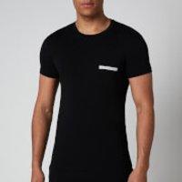 Emporio Armani Mens New Icon T-Shirt - Black - L