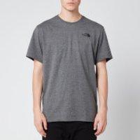 The North Face Men's Redbox T-Shirt - Medium Grey - XXL