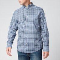 Gant Mens Tartan Shirt - Pacific Blue - XXL