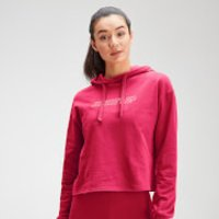 MP Women's Outline Graphic Hoodie - Virtual Pink - M