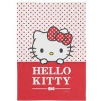 Hello Kitty Red Polka Dots Tea Towel