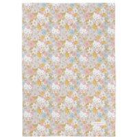 Hello Kitty Buttercream Flower Field Tea Towel