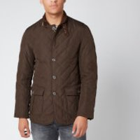 Barbour Mens Lutz Quilted Jacket - Olive - L