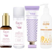 Skinny Tan Face and Body Glow Bundle (Worth PS52.96)