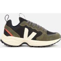 Veja Men's Venturi B-Mesh Running Style Trainers - Black/Olive Pierre - UK 10.5