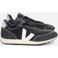 Veja Men's Rio Branco Mesh Trainers - Black/White/Oxford Grey - UK 10.5