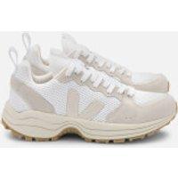 Veja Men's Venturi Mesh Running Style Trainers - White/Pierre/Natural - UK 9