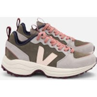 Veja Women's Venturi Suede Running Style Trainers - Khaki/Sable/Oxford Grey - UK 3