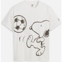 Levi's X Peanuts Women's Graphic Relaxed Oversized T-Shirt - White - S