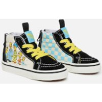 Vans X The Simpsons Toddlers' Sk8 Hi-Top Trainers - 1987-2020 - UK 6 Toddler