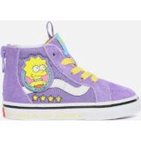 Vans X The Simpsons Toddlers Sk8 Hi-Top Trainers - Lisa 4 Prez - UK 2 Toddler