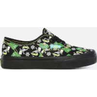 Vans X The Simpsons Kids' Authentic Trainers - Glow Bart - UK 13 Kids