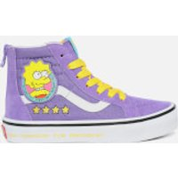 Vans X The Simpsons Kids' Sk8 Hi-Top Trainers - Lisa 4 Prez - UK 10 Kids