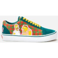 Vans X The Simpsons Old Skool Trainers - Moe - UK 3