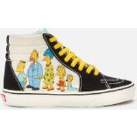 Vans X The Simpsons Sk8 Hi-Top Trainers - UK 1987-2020 - UK 6