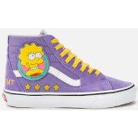 Vans X The Simpsons Sk8 Hi-Top Trainers - Lisa 4 Prez - UK 5