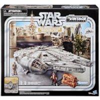 Hasbro Star Wars The Vintage Collection Galaxy's Edge Millennium Falcon Smuggler's Run