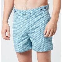 Frescobol Carioca Men's Pepe Tailored Swim Shorts - Ocean/Twilight - W36