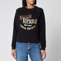 Maison Kitsune Women's Sweatshirt Palais Royal - Black - XS