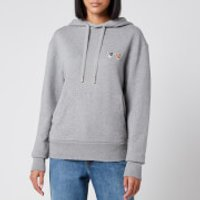 Maison Kitsune Women's Hoodie Double Fox Head Patch - Grey Melange - S