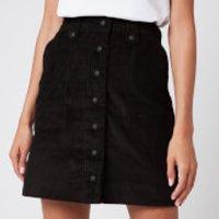 Maison Kitsune Women's Alma Buttoned Skirt - Black - M
