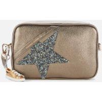 Golden Goose Deluxe Brand Women's Metallic Star Cross Body Bag - Metallic Musk/Crystal