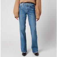 Free People Women's Laurel Canyon Flare Jeans - Wilson Blue - W28