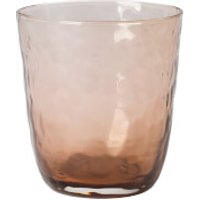 Broste Copenhagen Hammered Glass Small Tumbler - Natural